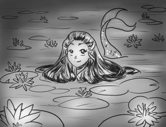 Mermay: Water Lily by xYaminogamex