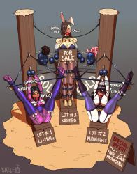 The Auction Block at the Center of the Universe by Skelebomb