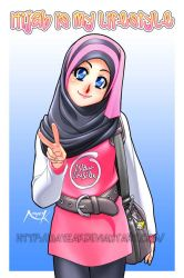 Hijab is my lifestyle by Nayzak