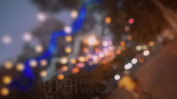 Bokeh by tsminh