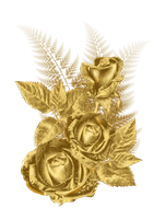 golden flower by roula33