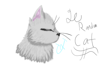 Le Random Cat 4 by UnderTale-The-Human