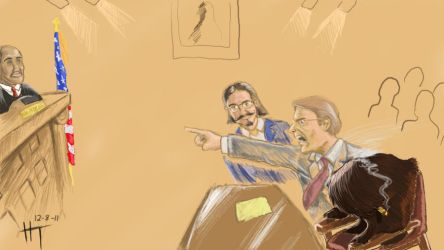Hairgojevich on trial by TheHonorableMcNasty