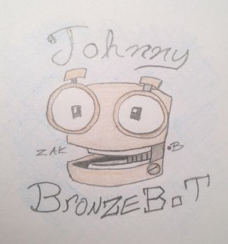 Johnny Bronze Bot by AmoebaGagless