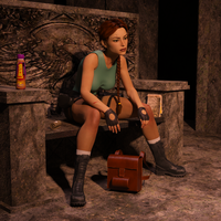 Classic Raider 119 by tombraider4ever