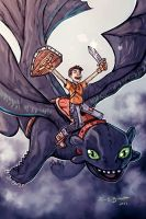 HOw to train your Dragon by thecarrierone