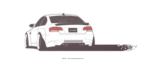COMMISSION: Bmw M3 E92 by AeroDesign94