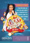 Lucky Draw Night Flyer Template by n2n44