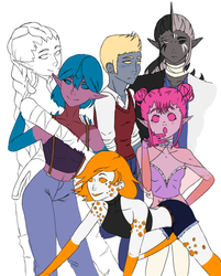Group Picture {WIP} by Khaspian