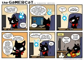 The GaMERCaT - Cookie Monster by celesse