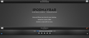 iPodNavBar For CAD by d1ckies