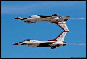 Nellis Thunderbirds 17 by AirshowDave