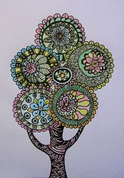 Spring Tree by ZendoodleArt