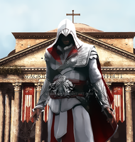 Ezio Brotherhood by kenmejia