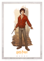 Day 2: Harry by Eddy-Swan-Art