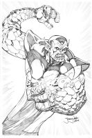 Super Skrull is awesome by thejeremydale