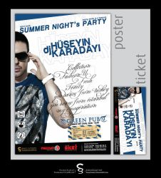 dj Huseyin Karadayi Party Post