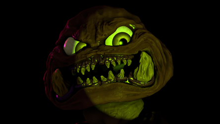 Sculptris #7 - Wrinkly Goomba by TheClawTheySay