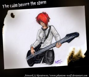 The calm before the storm by Phantom--Wolf
