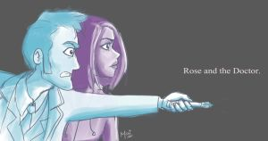 Rose and the Doctor by amused-mai