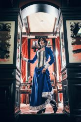 Miss Comstock by Tegorin