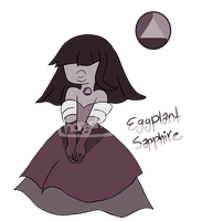 Paypal/Points Adoptable: Eggplant Sapphire(CLOSED) by Thongchan