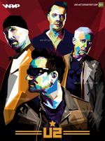 U2 in wpap by dhe-art