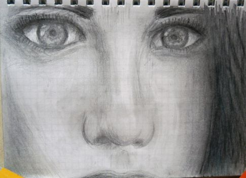 Face drawing by aNNiMON119