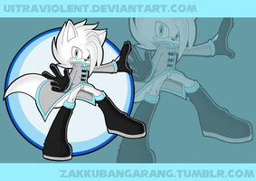 Orion the Arctic Fox // Sonic Channel by rnewls