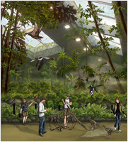 Wings: The Mesozoic Aviary by Sheather888