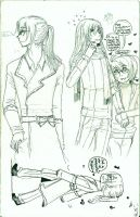 Sketches con Kr y 11 eAe by 0-w-VaLe-Chan-w-0