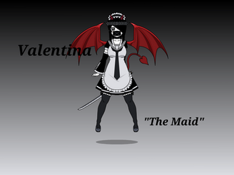 OFF OC - Valentina ''The Maid'' by Tiglillychan