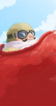 Speed Porco Rosso by Blue-Steak