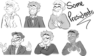 Some Presidents by OR-SO-HELP-ME