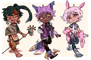 129 stripe set Adopts [auction] closed by alchemanic