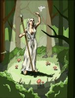 Woman of the Woods - mock up by tadamson