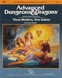DND Three Maidens, One Goblet by KneelB4Zod71
