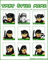 Tmnt Style Meme By Milykins by bugsytrex