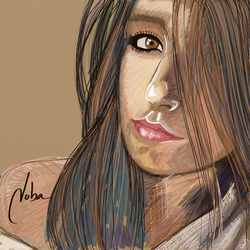 Vivi on Watercolor by mnetto