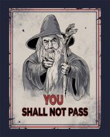 Uncle Gandalf by spacemonkeydr