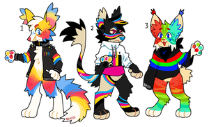 colorful anthro adopts OTA (CLOSED) by boyzoi