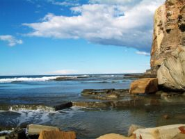 Rock and Water 08 by lobe-stock