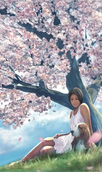 under cherryblossom complete by kerko
