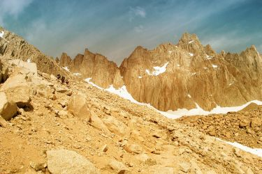 Mount Whitney by snakstock