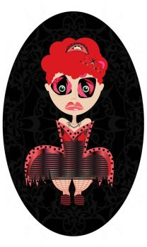 Red Mary la bambola gonfiabile by LindaPorzio