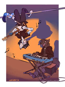 [COMMISSION] - Little Concert by Zummeng