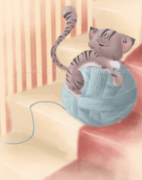 Yarn Cuddles by parochena