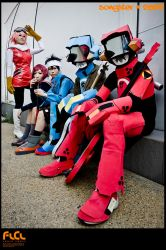FLCL Group Shot by songster69