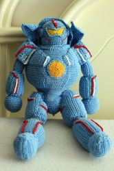 Pacific Rim - Gipsy Danger Jaeger Doll by Nissie