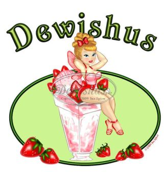 Strawberry Sundae Fairy by Dewishus